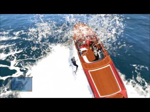 GTA 5 | Stunt #1 Boat Landing