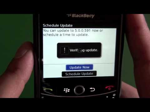BlackBerry Wireless Update