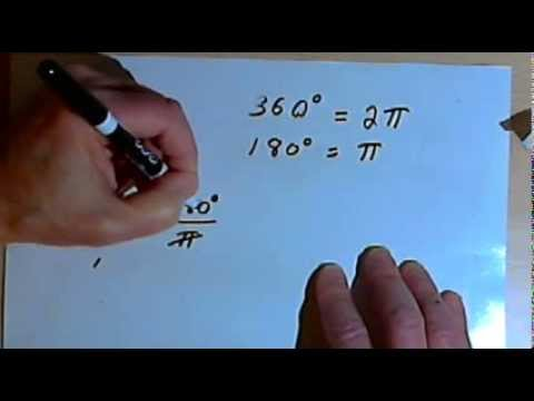 Converting Between Degrees and Radians  143-8.1.3