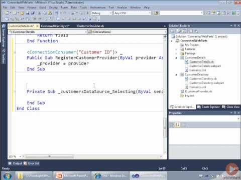 Implementing custom web parts with SharePoint 2010 | Pluralsight