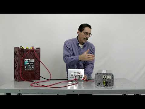 Low Voltage Shutdown Relay for DC to AC Power Inverters by Missouri Wind and Solar