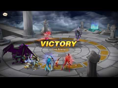 Summoners War Live Arena Battle