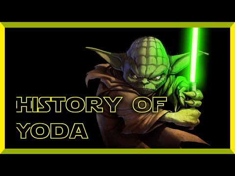 Star Wars History Of Yoda
