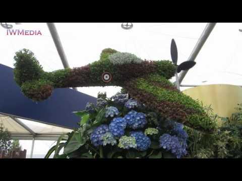 CRHnews - RHS CHELSEA Spitfire's barn storming Flower Show