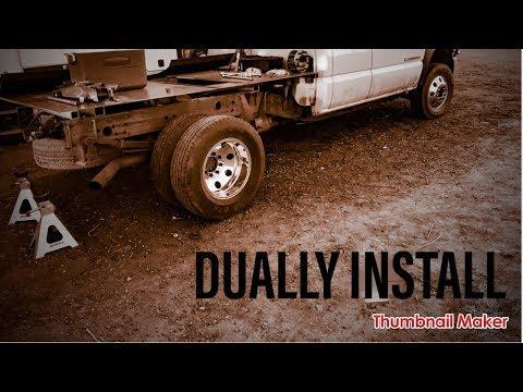 Welding Truck Build. Dually conversion! Schofield Welding