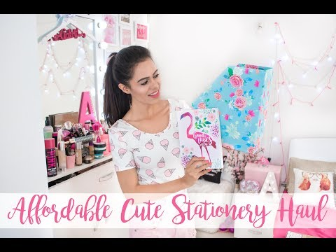 AFFORDABLE CUTE STATIONERY HAUL