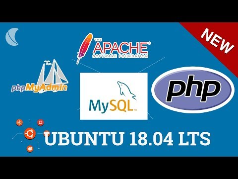 Tutorial Como instalar LAMP【 Apache PHP MYSQL + PHPMyadmin 】Ubuntu 18.04 LTS Linux Server Completo