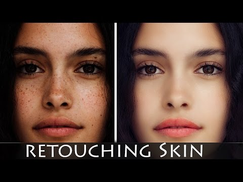 Photoshop Tutorial׃ How to retouching Skin retaining Texture