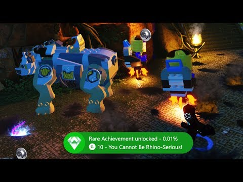 LEGO Marvel Super Heroes 2 How to get You Cannot Be Rhino Serious Achievement or Trophy