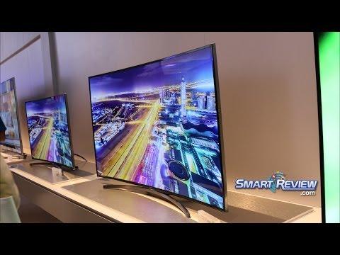 CES 2014 | Samsung H8000 Series Full HD Curved LED TV |  Smart UN48H8000, UN55H8000, UN65H8000 |
