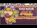 All Koopaling Boss Fights In Paper Mario Color Splash