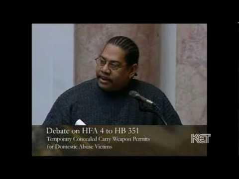 Rep. Reginald Meeks Questions Focus of Concealed Carry Measure