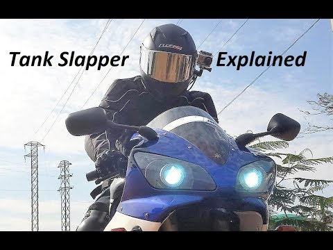 Tank Slapper Explained. Motorcycle Tips.
