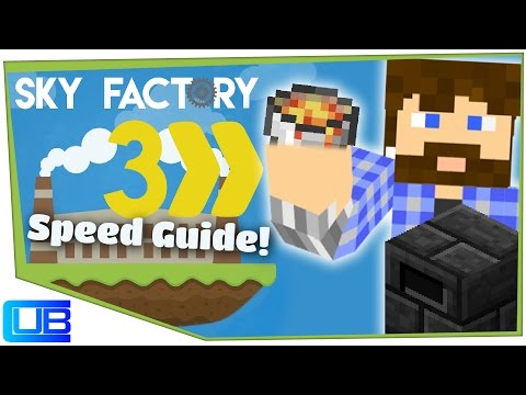 Infinite Smeltery Fuel | Cub's Speed Guide to Sky Factory 3 | Ep 3