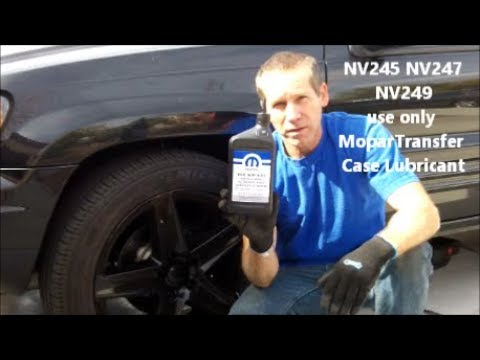 How to change Transfer Case Fluid on a 99-04 Jeep Grand Cherokee