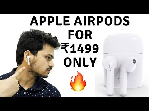 Fake Wireless Apple Airpods Unboxing | HBQ I7S TWS | Tech unboxing 🔥