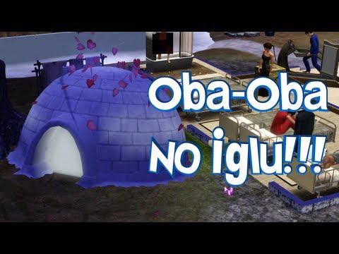 The Sims 3 - Desafio do Hospício Insano (Ep. 10) - Woohoo no Iglu ou Oba-Oba em casa de Esquimó!