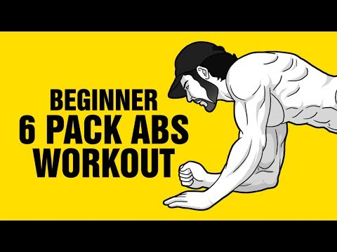The Best 6 Pack Abs Workout For Beginners - 8 min Follow Along Video