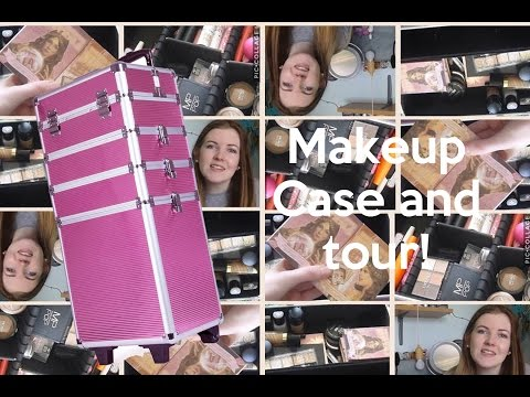 Beginner Makeup collection case and Tour!