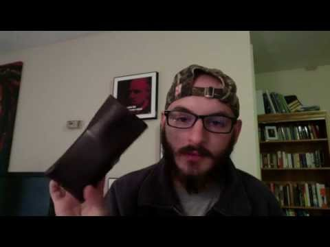Men's Fossil Flyby Checkbook style Wallet - Review!!