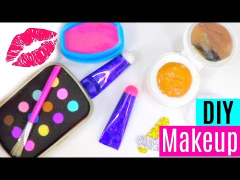 3 DIY Makeup Crafts for Dolls