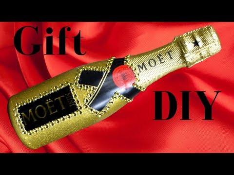 DIY | Easy No Mess Glitter | Unopened Bottle | Gift Ideas