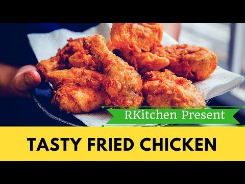 FRIED CHICKEN RECIPE - KFC STYLE (Tasty Crispy Fried Chicken )
