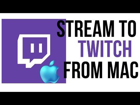 How To Stream To Twitch From A Mac - Twitch Tutorial