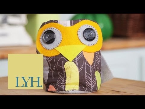 Owl Doorstop: Made At Home 1