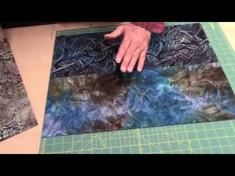 Jordan Fabrics How to Cut A Rail Fence Quilt