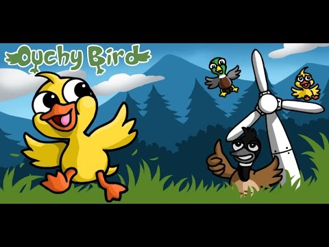 Ouchy Bird - the best game of 2017 for mobile phones iOS (iPhone, iPad) and Android