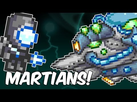 Terraria MARTIAN MADNESS! Best Weapons & HOW TO SUMMON!   PC   XBOX1   PS4