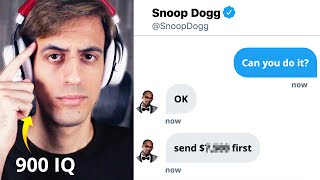 How I Convinced Snoop Dogg to Rap for Me