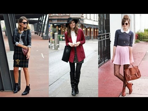 How to Wear Skirts With Boots | Style Survival