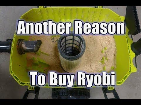 RYOBI ONE+ 18-Volt 6 Gallon Wet/Dry Vacuum P770 Review