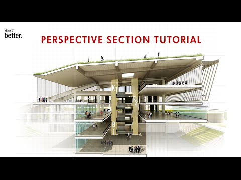 How to Render a Perspective Section