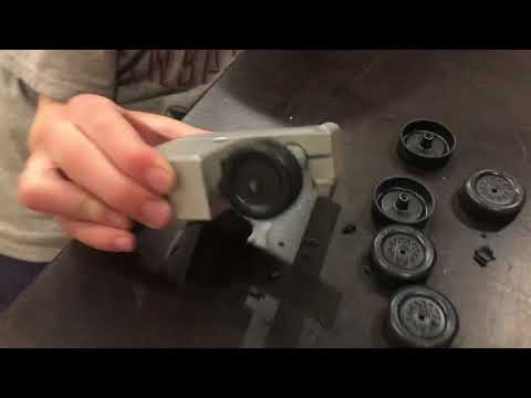 Pinewood Derby Secrets Part 4 - Wheel Shaving