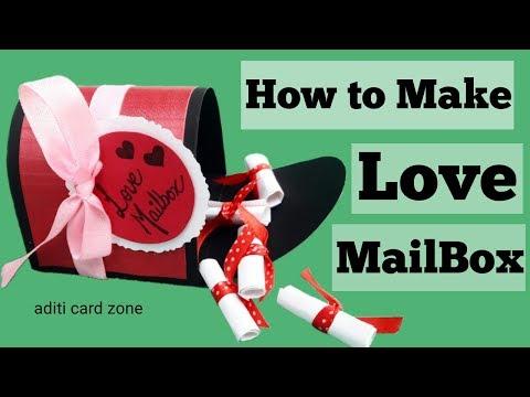 Love mail box   Handmade gifts for boyfriend   Birthday gifts   Easy handmade gifts  