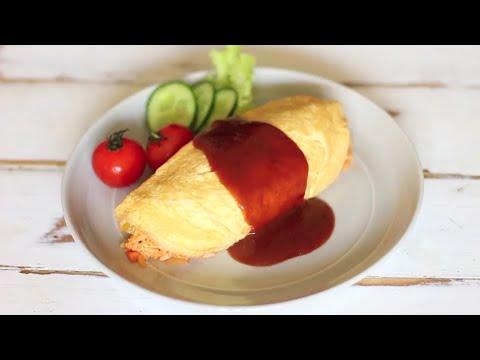 Omurice - Japanese Omelette Rice
