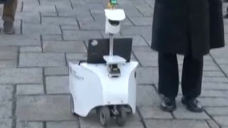 Self-driving robots put to the test in Japan's Chiba