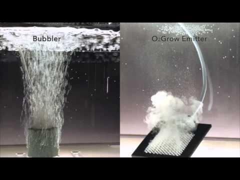 Bubbler VS O2Grow Emitter