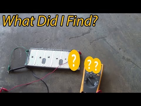 What Did I Find in my Prius Hybrid Battery?