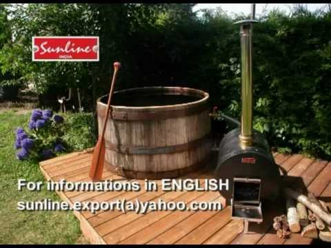 HOW to BUILD a JACUZZI HOT TUB wood fired SUNLINE water HEATER - 2