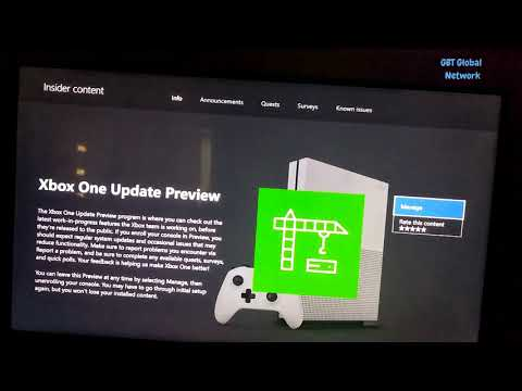 Xbox One Insight program