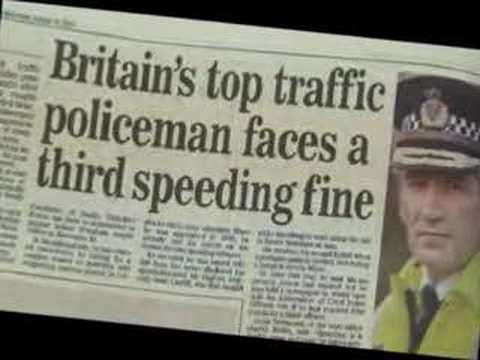 Video footage from 'How to Avoid Speeding Fines & Points Leg