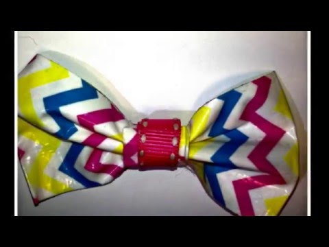 DIY Duct Tape Easter Bows