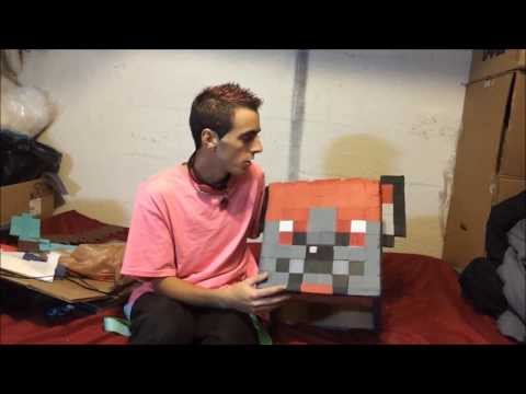 Custom Minecraft Costume Tutorial! Create your Character!