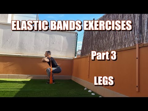 100 RESISTANCE BANDS EXERCISES | PART 3: LEGS