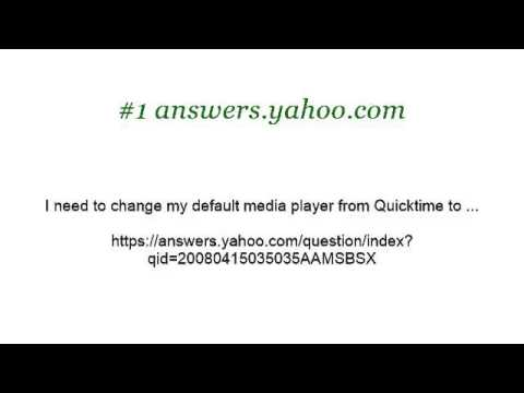 How-To Change A Default Media Player From Quicktime To VLC On A Mac