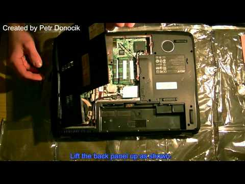How to remove or replace the Optical Disc Driver Acer Aspire 5920.